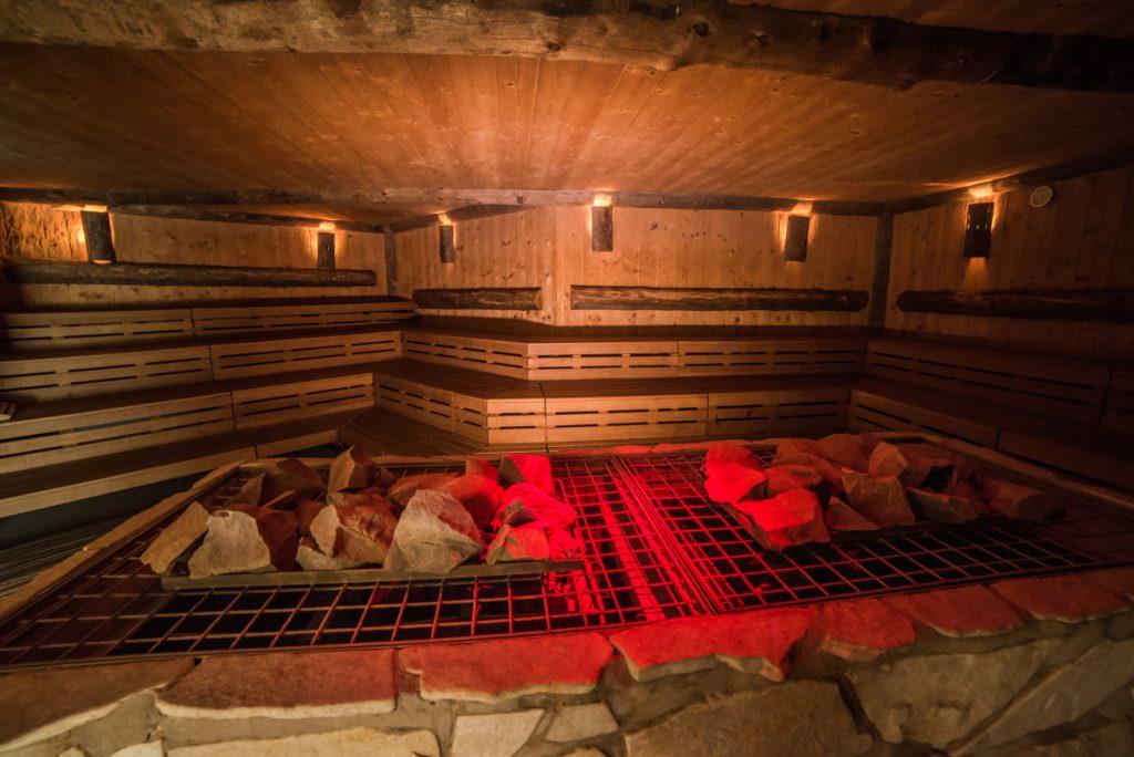 sauna event