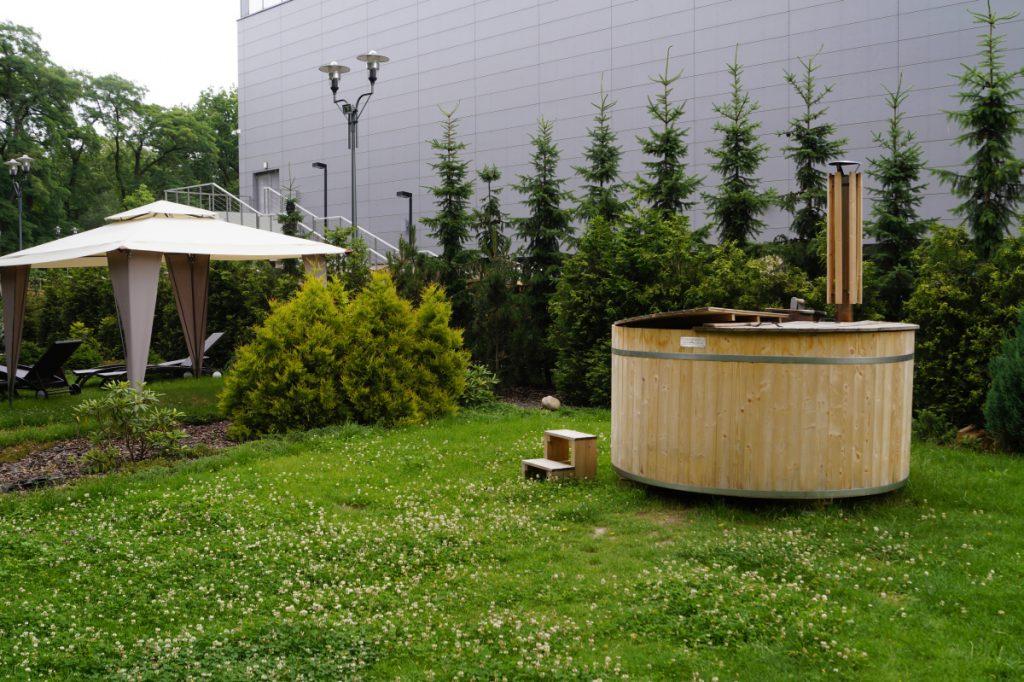 zielony taras sauny poznań