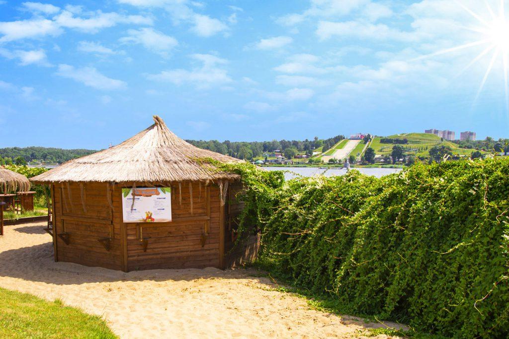 park wodny bary plażowe