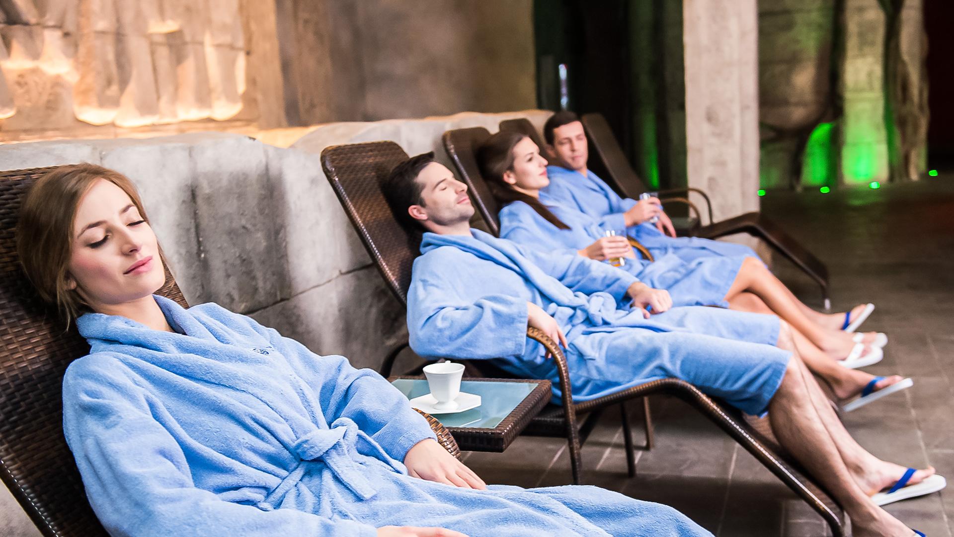 świat saun w termach maltańskich