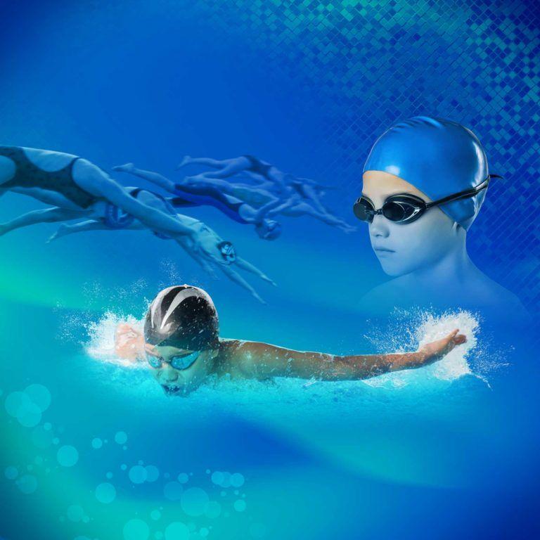 Urodzinowe zawody pływackie!